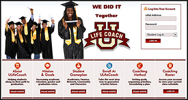 ULifeCoach Custom Websites Designed by N.A.I. Multimedia Austin TX