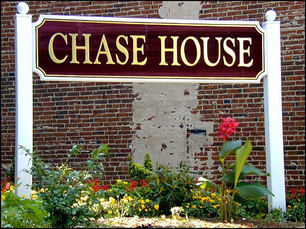 Chase House Business Yard Sign