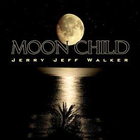 Jerry Jeff Walker Moonchild CD Design by N.A.I. Multimedia Studios Austin TX