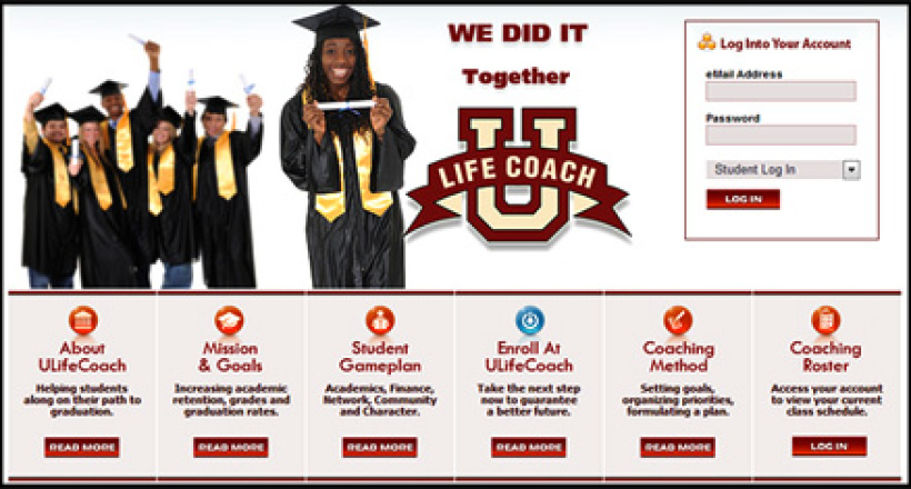 ULifeCoach.com Website Designed by N.A.I. Multimedia Studios Austin Texas