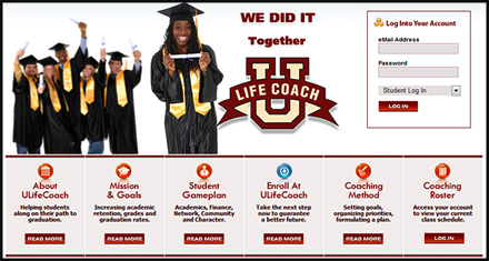 ULifeCoach.com Website Designed by N.A.I. Multimedia Studios Austin Texas